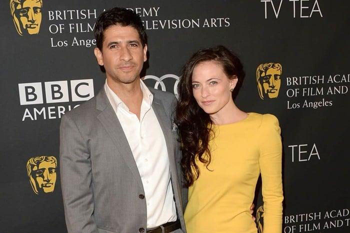raza jaffrey with Lara Pulver
