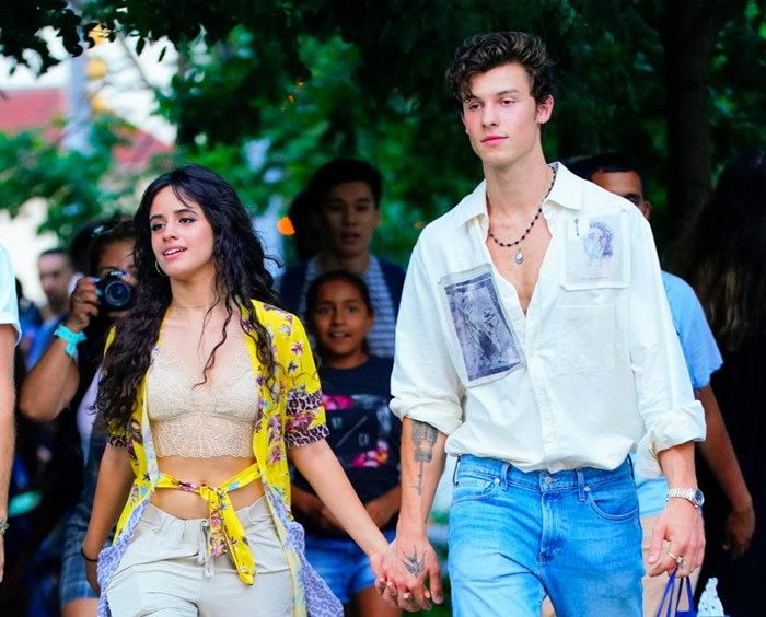 Shawn Mendes with Camila Cabello
